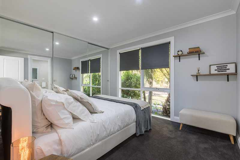 Bedroom - Rex's Yarra Valley House