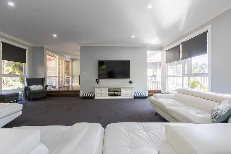 Living room - Rex's Yarra Valley House