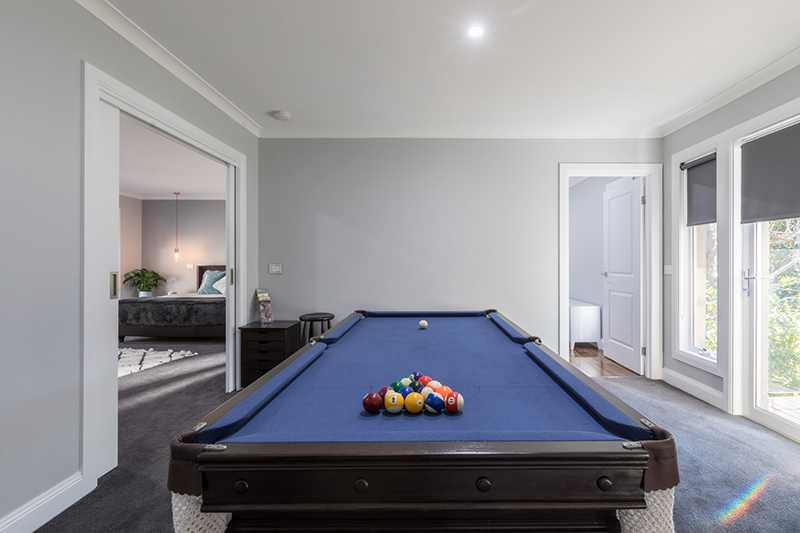 Pool table - Rex's Yarra Valley House