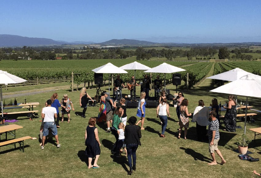 Live music every Sunday at Greenstone Vineyards