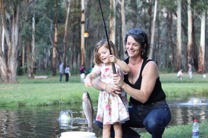 Buxton trout farm